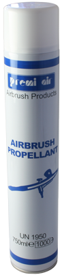 Airbrush Propellant 750ml CFC Free