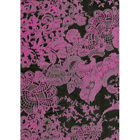 Decopatch Pink and Floral Paper 30x40cm 460