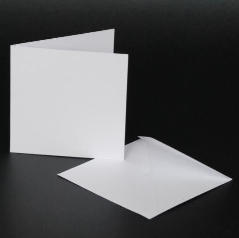 4x4 Card Blanks and Envelopes Craft UK