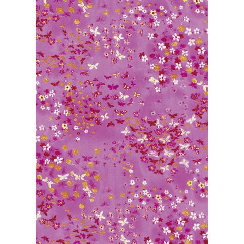 Decopatch Pink Butterfly Paper 30x40cm 505