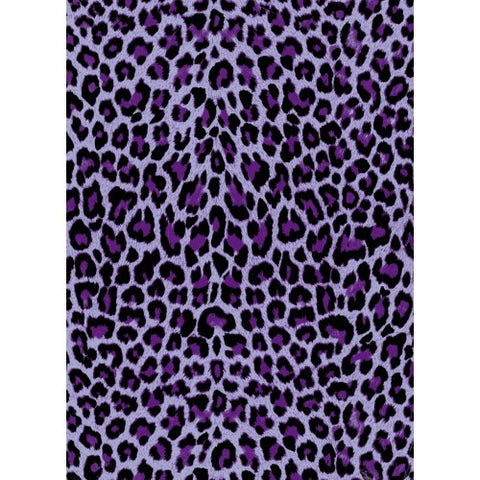 Decopatch Blue and Purple Leopard Print Paper 30x40cm 528