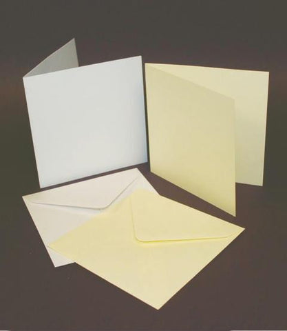 5x5 Card Blanks and Envelopes Craft UK