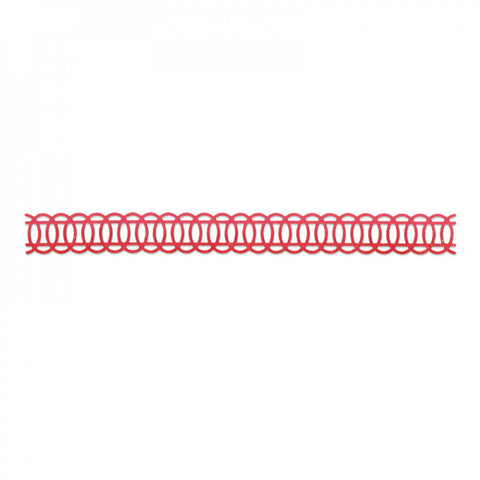Ovals Interlocking Border Sizzlits Decorative Strip By Sizzix 657709