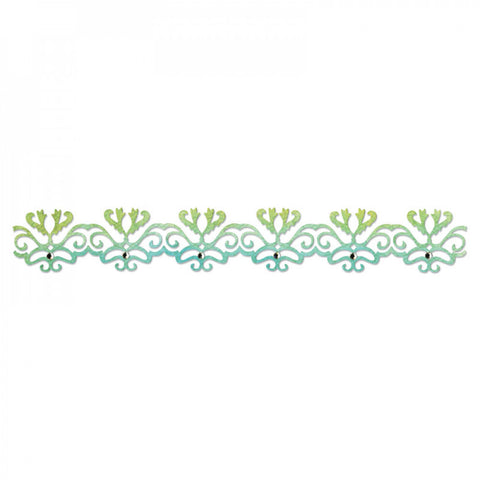 Filigree Border Sizzlits Decorative Strip Scrappy Cats By Sizzix 657745