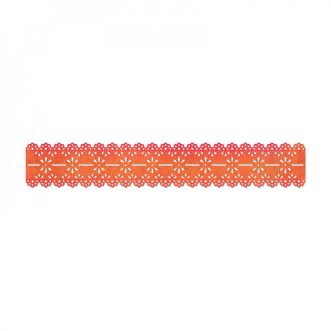 Scallop Eyelet Lace Sizzlits Decorative Strip Dena Deigns By Sizzix 658003