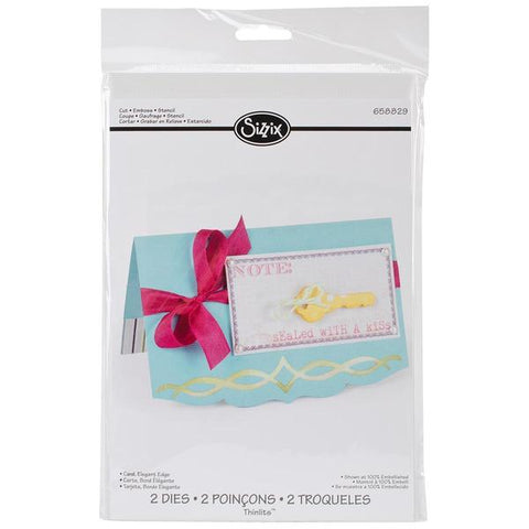 Elegant Edge Card Die Cutting By Sizzix 658829