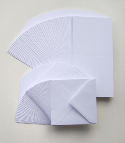 6x6 Card Blanks and Envelopes Payperbox