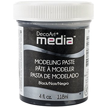 Modeling Paste Black DecoArt Media