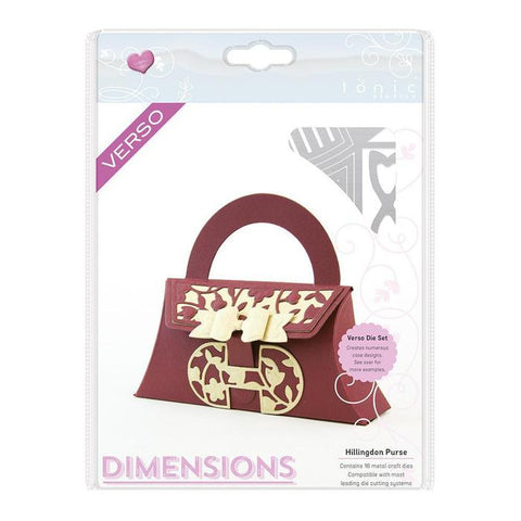 Hillingdon Purse Dimensions Die Set By Tonic Studios 766e