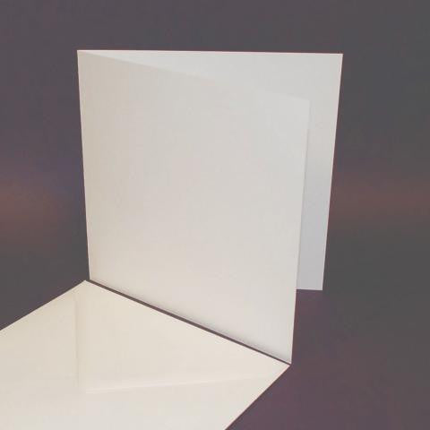 7x7 Card Blanks and Envelopes Payperbox