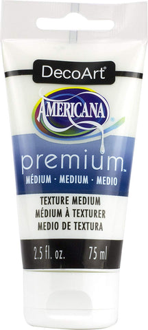 DecoArt Americana Premium Texture Medium 2.5 fl. oz. 75ml