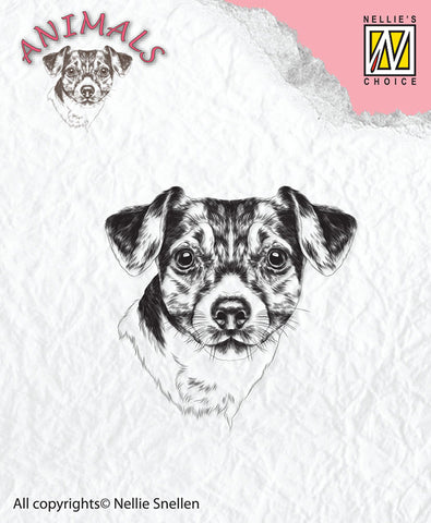 Dog Clear Stamp by Nellie Snellen ANI016