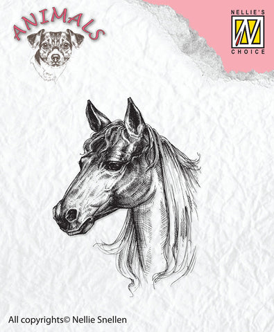 Nellie Snellen Clear Stamps Animals - Horse Ref: ANI018