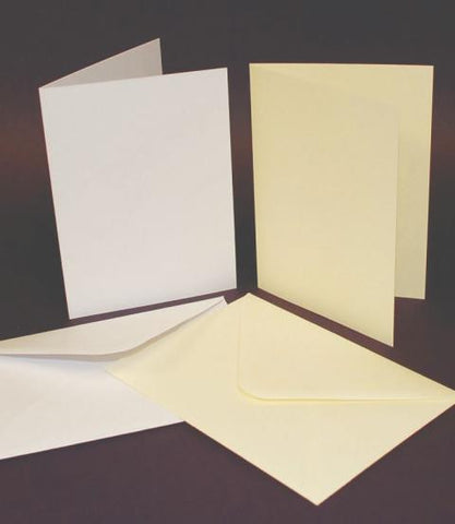A6 (6x4) Card Blanks and Envelopes