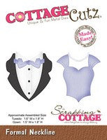 CottageCutz Dies - Formal Neckline