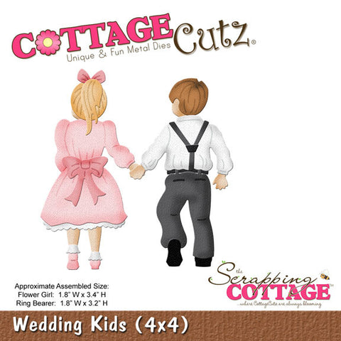 CottageCutz Dies - Wedding Kids (4x4)