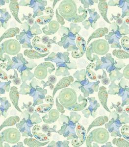Turquoise Paisley Decoupage Paper 35 x 40cm pk 3 By Craft Consortium CCDECP016
