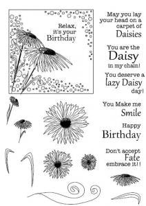 Daisy Corner Elements Clear Stamp Set CEC714 John Lockwood