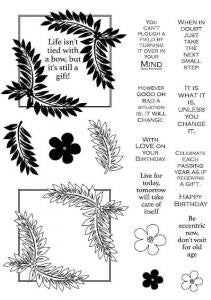 Fern Frames Elements Clear Stamp Set CEC715 John Lockwood
