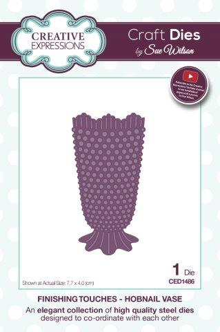 Finishing Touches Collection - Hobnail Vase CED1486