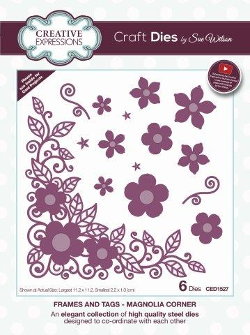 Magnolia Corner Die Frames and Tags Sue Wilson Creative Expressions CED1527