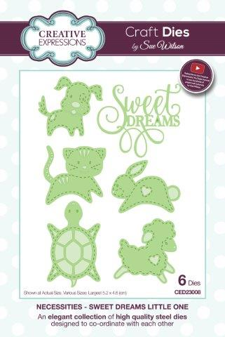 Sweet Dreams Little One Necessities Collection Die CED23008 By Sue Wilson Creative Expressions