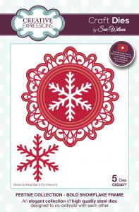 Snowflake Frame Festive Collection By Sue Wilson Creative Expressions CED3077