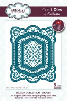 Bruges Belgian Collection Dies By Sue Wilson Creative Expressions CED9205