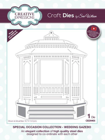 Wedding Gazebo Special Occasion Collection By Sue Wilson Creative Expressions CED9405