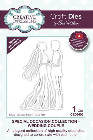 Wedding Couple Special Occasion Collection By Sue Wilson Creative Expressions CED9406
