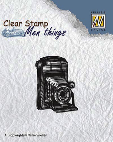 Camera Clear Stamps Men Things Nellie Snellen CSMT001