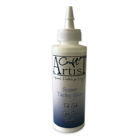 Craft Artist Super Tacky Glue Fast Grab Flexible By John Next Door 4oz 118ml