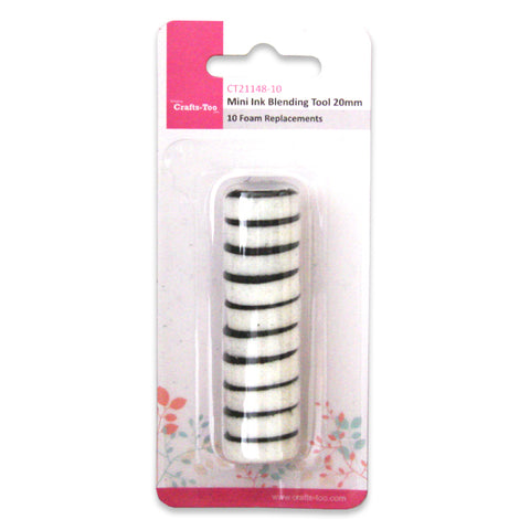 Small Round Ink Blending 10PK Refill Tools By Crafts Too CT21148-10