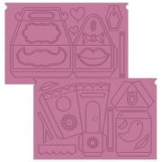 Crafters Companion Sweet Treats Ultimate Pro Embossing Board - Sweet Things