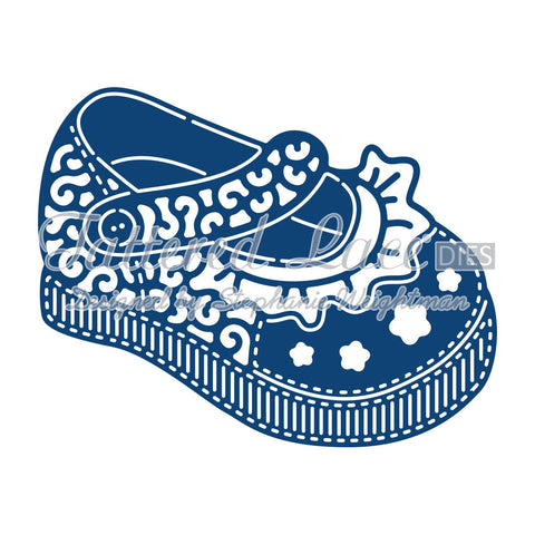 Tattered Lace Dies - Baby Girl Shoe D751