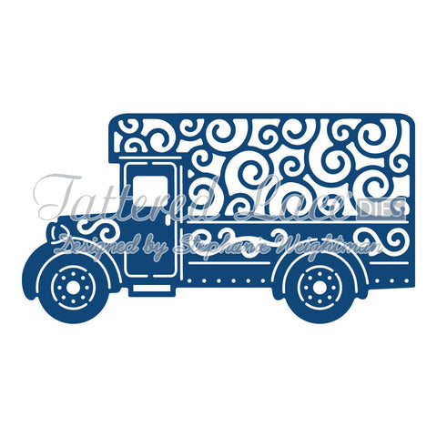 Delivery Van By Tattered Lace D851