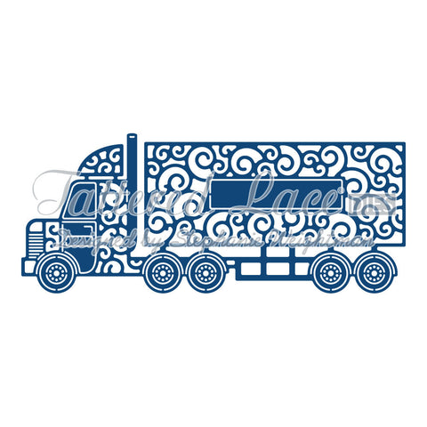 Lorry D853 By Tattered Lace