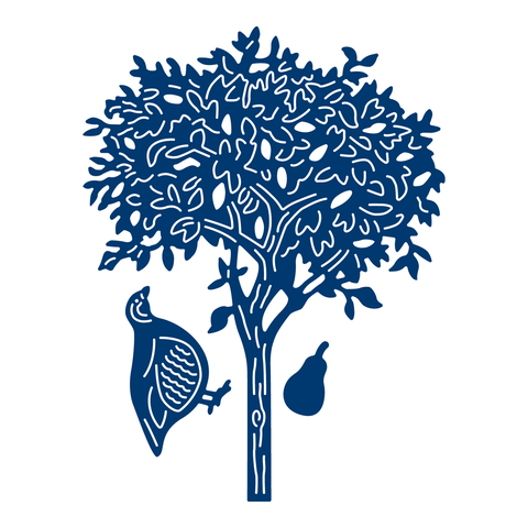 Partridge In A Pear Tree By Tattered Lace D867