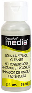 Brush and Stencil Cleaner DecoArt Media