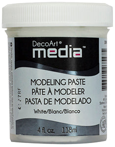 Modeling Paste White DecoArt Media