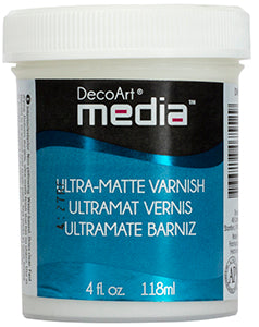 Ultra-Matte Varnish DecoArt Media