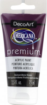 DecoArt Americana Premium Acrylic Paint 2.5 fl. oz. 75ml