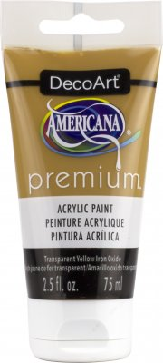 DecoArt Americana Premium Acrylic Paint 2.5 fl. oz. 75ml (Verious Colours)