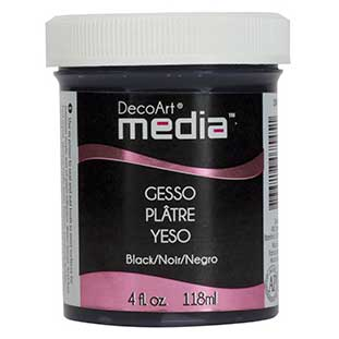 Black Gesso DecoArt Media