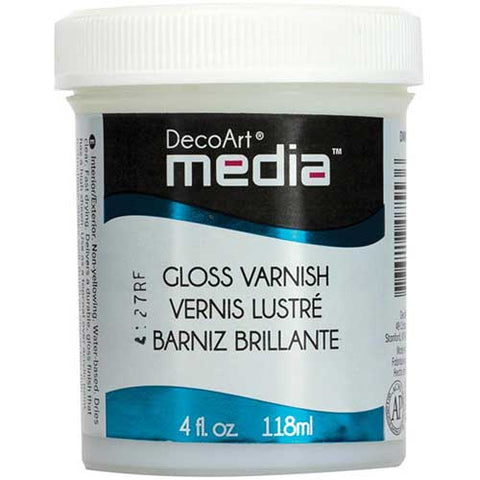 Gloss Varnish DecoArt Media