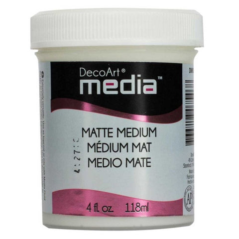 Matte Medium 4fl.oz DecoArt Media DMM20