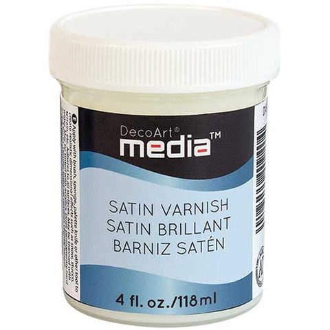Satin Varnish DecoArt Media