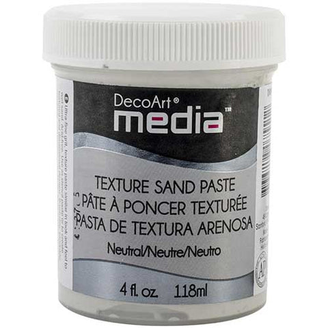 Texture Sand Paste Neutral DecoArt Media