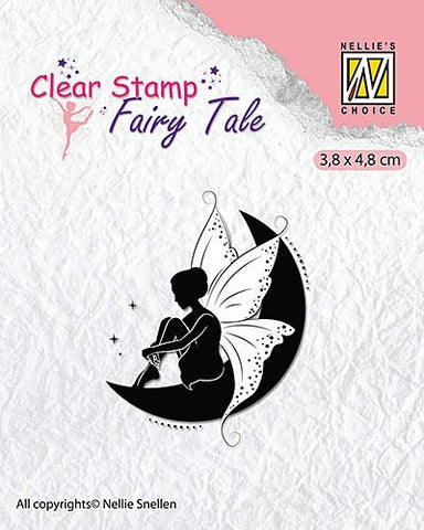 Nellie Snellen Fairy Tale Clear Stamps - Fairies 10 Ref: FTCS012