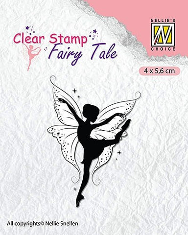 Nellie Snellen Fairy Tale Clear Stamps - Fairies 11 Ref: FTCS013
